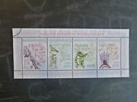 2013 HUNGARY 100th ANNIV  BIRTH OF SANDOR WEORES 4 STAMP SHEETLET USED STAMPS