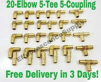 """Elbows Coupling ProPre Fittings Lot of 30 3//4/"""" Propress Copper Fittings.Tees"""