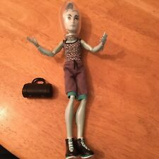 Monster High Gillingham Gil Webber Dance Class Boy Doll Helmet Bag Clothes Boots