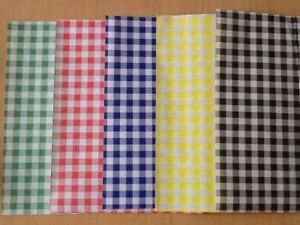 Quality Gingham Duplex Paper Food Wrap Greaseproof Chip Basket Liners 250x375mm