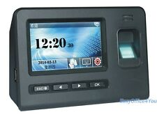 Biometric Fingerprint Time Recording Time Attendance 4.3 inch Touch Screen