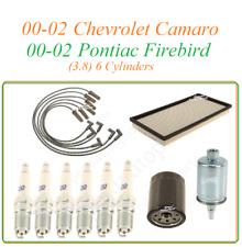 Tune Up For 00-02 Pontiac Firebird Chevrolet Camaro 3.8v6: Spark Plug Wire set