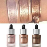3D Highlighter Liquid Glow Makeup Highlighter Cream Concealer Shimmer Face Glow