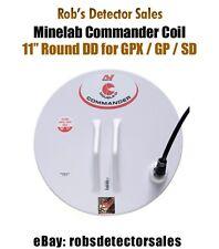 "Minelab Commander Search Coil - 11"" Round DD for Minelab Metal Detectors"