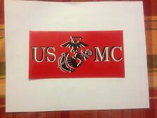 USMC Bumper Sticker Marine Bumper Sticker Semper FI Bumper Sticker free ship