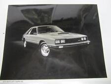 79 Mercury Capri R/S Advance Technical Data Press Photo 1979 1of2