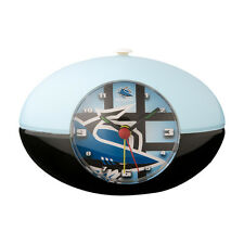 CRONULLA SHARKS NRL Desk Clock Footy Shape Rugby League Man Cave Christmas Gift