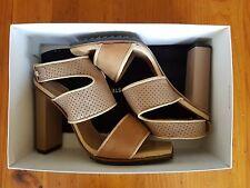 Ladies Lacoste Designer Shoes Eliana 4 SRW LT BRW UK8
