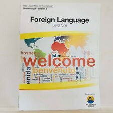 My Father's World Foreign Language Lesson Plans for Rosetta Stone Level One Euc