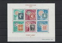 Republic du Tchad 1971 Fort Lamy Mint Never Hinged Stamps Sheet Ref 26114