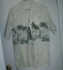 VINTAGE MEN'S HAWAIIAN SHIRT' MADE IN HAWAII' SIZE EXTRA LARGE