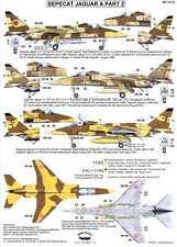 Berna Decals 1/72 SEPECAT JAGUAR A Jet Fighter Part 2