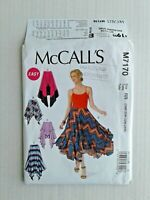 McCalls 7170 Misses Womens Skirts Sewing Pattern Size18W-24W 5 Styles OOP UNCUT