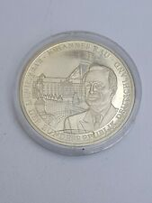 Johannes Rau  Crown size Excellent Condition Coin Medal Germany