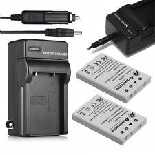 2x EN-EL5 Battery + Charger for Nikon Coolpix P500 P510 P520 P530 P80 P90 P100