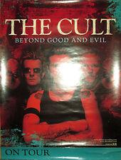 The Cult Beyond Good & Evil, Atlantic promotional poster, 2001, 18x24, Vg+