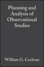 Planning and Analysis of Observational Studies (Wiley Series in Probability and