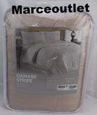 Charter Club Damask Stripe 350 Thread Count KING Down Blanket Taupe