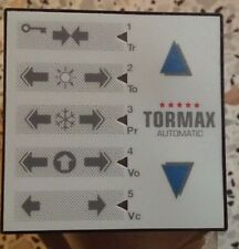 TORMAX PROGRAMME SWITCH FOR AUTOMATIC SLIDING DOORS