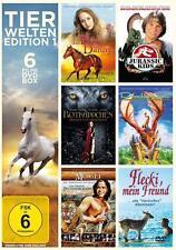 Tierwelten Edition 1 (2015) - 6 Filme DvD Box