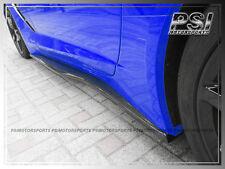 Z06 Z07 Type Carbon Fiber Side Skirts Lip Spoiler For 14+ Chevy Corvette C7 STI