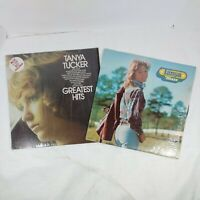 Lot 2 Tanya Tucker Classic Country Vinyl LPs Greatest Hits and Self Titled Album