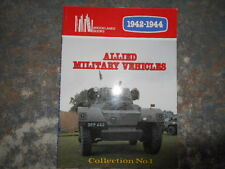 Allied and Military Vehicles 1942-44 Vol 1 Brooklands Books Signed Barry Lake
