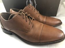7226bf7cb32 Florsheim Montinaro CP Ox Saddle Tan Oxfords Shoes Men Size 10 D