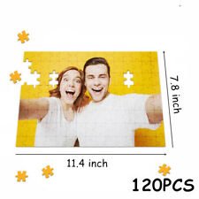Personalized Jigsaw Puzzle 120Piece DIY Your Custom Picture Photo Gift Image