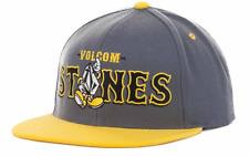Volcom Mascot Snapback Gray & Yellow Adjustable Hat Cap $30