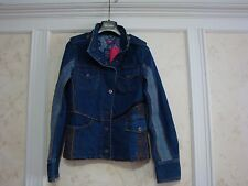 NWT $278 OILILY WOMENS DENIM JACKET COAT 36 S