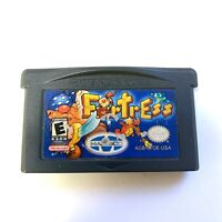 Fortress - Game Boy Advance GBA Game Tested Working & Authentic!