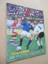 Panini EM 96 Euro 1996 ALMOST empty album +20 ultra rare Bulgarian version