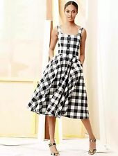 Dolce and Gabbana Gingham Swing Dress