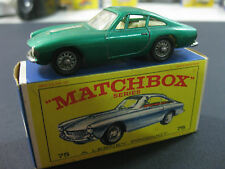 VINTAGE 60/70´S MATCHBOX LESNEY FERRARI BERLINETTA Nº75