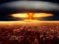 Nuclear Explosion World War Wall Print POSTER AU