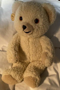 Vintage Sweet Cuddly Snuggles Bear Mascot Snuggle Lever Co. 1986 By Russ NOS