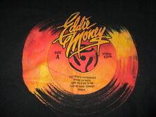 EDDIE MONEY Autographed Side A & B Stereo 45RPM Concert Tour (2XL) T-Shirt COA