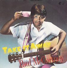 "Paul McCartney ""Take It Away"" 1982 U.K. Record (Mint) & Picture Sleeve (VG++)"