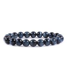 Men/Women 8mm Natural Gemstone Round Beads Birthstone Beaded Stretch Bracelets