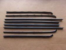 NEW 1970-72 Dart Swinger Scamp Window Sweep Belt Weatherstrip Catwhisker Set