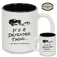 IT´S A DEFENDER THING, TwoTone Tasse, Becher, für Offroad & Land Rover Fans, neu