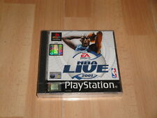 NBA LIVE 2001 DE EA SPORTS PARA LA SONY PLAY STATION 1 PS1 NUEVO PRECINTADO
