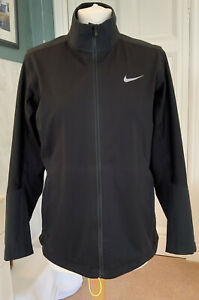 Nike Golf Storm Fit Ladies Black Waterproof Golf Jacket Size M
