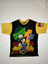 Vintage Mickey Mouse First Euro Disneyland In Europe 90s All Over Print T Shirt