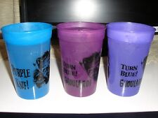 RaRe 3 GHOULARDI CUPS change colors TURN BLUE Cleveland OHIO TV GHOUL RAT FINK