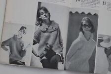 60s Vogue Knitting Book Mod fashion sweaters Jean Shrimpton Tania Mallet