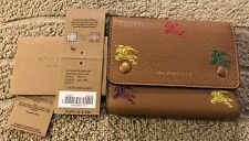 Burberry Womens's Wallet - Camel - New!