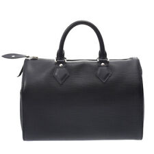 LOUIS VUITTON Epi Speedy 25 Black (Noir) M59232 Hand Bag 805000934437000
