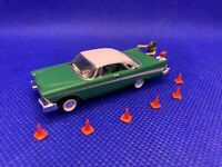 18″ Traffic Cones | HO Scale (1:87) | Hand Painted | 10 Pack | NEW | Exclusive